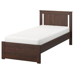IKEA offers everything from living room furniture to mattresses and bedroom furniture so that you can design your life at home. Check out our furniture and home furnishings! Bed Frame Legs, High Bed Frame, Malm Bed Frame, Cama Malm Ikea, Ikea Bed, Memory Foam, Hemnes Bed, High Beds, Pull Out Bed