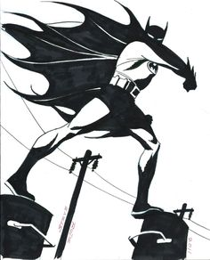 Batman by Steve Rude