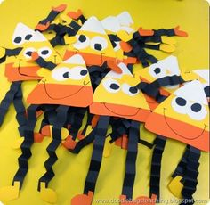 free download - candy corn guys - craftivity - halloween decoation