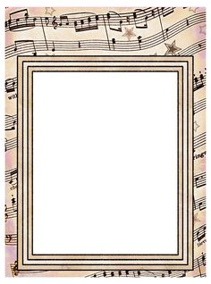 Clip Art designs all based on a vintage music score or sheet music as you may call it.