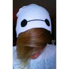 a2c5a5a992e Big Hero 6 Baymax Inspired Beanie ( 16) ❤ liked on Polyvore featuring  accessories