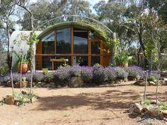 An Australian version of the Quonset home!  Triple Helix Consulting