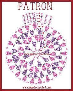 Risultati immagini per gorras a crochet con patrones Crochet Diagram, Crochet Chart, Crochet Motif, Diy Crochet, Crochet Doilies, Crochet Flowers, Crochet Patterns, Crochet Circles, Crochet Round