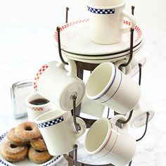 Homer Laughlin Classic Diner Mugs and Plates