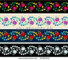 Colorful and ornate ethnic pattern. Mexican embroidery seamless pattern.