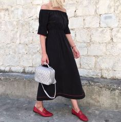 Ganni street style   Picture from IDconceptstore    Grace Silk Dress