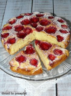 Polish Desserts, Polish Recipes, Polish Food, Cake Recipes, Snack Recipes, Cooking Recipes, Snacks, Food Cakes, Sweet Cakes