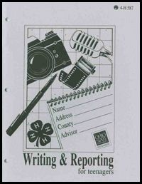 Writing and Reporting for Teens from Ohio 4-H
