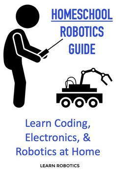 Add robotics projects and activities to your homeschool. This guide will show parents of all backgrounds how to implement robotics to improve STEM learning! Fun projects and free tips to get you started. Learn more! activities Robotics for Homeschool Science For Kids, Data Science, Activities For Kids, Robots For Kids, Science Fun, Science Fiction, Robotics Projects, Robotics Engineering, Stem Curriculum