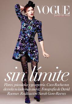 Coco Rocha para Vogue Mexico
