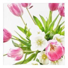 Spring Tulips Bouquet Acrylic Wall Art  $74.46  by ZoeCalvertDesigns  - custom gift idea