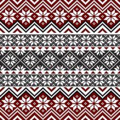 30 Marvelous Picture of Norwegian Knitting Patterns Free . Motif Fair Isle, Fair Isle Chart, Fair Isle Pattern, Fair Isle Knitting Patterns, Knitting Charts, Knitting Stitches, Knit Patterns, Nordic Pattern, Scandinavian Pattern