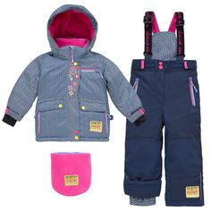 Deux Par Deux | Habits de neige 2017 / Snowsuits 2017 - Spirits Of Adventure Collection #girls #snowsuit #trendy #chevrons  #winter #2017 #fashion #kids #filles #habitdeneige #tendances #hiver #mode #enfants