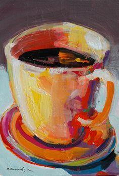 Robert Burridge Art / Coffee Art / Coffee Shop Stuff