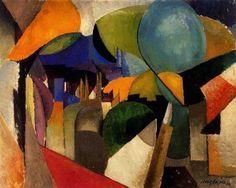 Albert Gleizes (1881–1953): Landscape near Montreuil, 1914