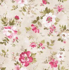 Albany Summer Meadow Pink Wallpaper main image
