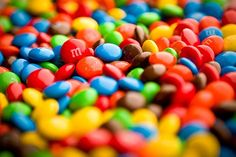 Soon after this picture was taken, the orange M&Ms realized that they were greater in number compared to the rest of the colors in the M&M population. Revolution was inevitable...