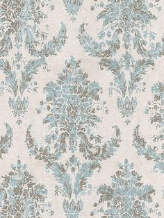 Beacon House Damask Wallpaper by Brewster. Find this pattern at AmericanBlinds.com.