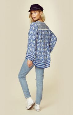 Spell New Bohemian Clothes Oracle Blouse