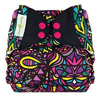 "bumGenius cloth diaper ""Picadilly Circus"" available in freetime and 4.0 styles.  www.diaperstyle.com  cloth diapers"