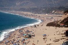 Zuma Beach is a massive beach with lifeguard stations spaced out on the shore to protect people who risk swimming these waters. Strong rip currents can develop at Zuma Beach so be aware if you want to swim. Things To do In Malibu