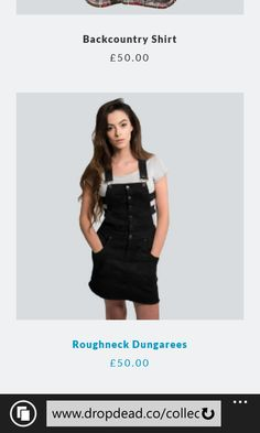 roughneck dungarees #dropdead