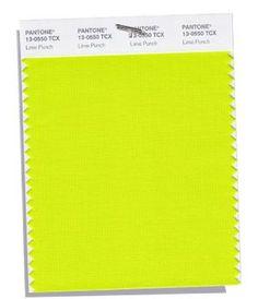 PANTONE 13-0550 Lime Punch