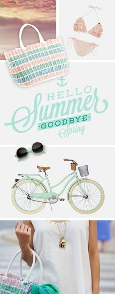 ¡Bienvenido verano adiós primavera! #bolso, #bag, #sac