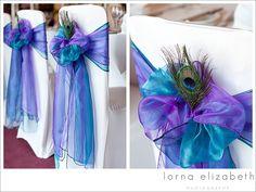 peacock wedding reception - Google Search