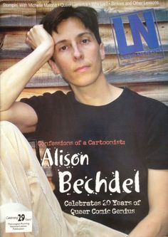 Lesbian News   Alison Bechdel Alison Bechdel, Why Lie, Butch Fashion, Children's Comics, Butches, Yesterday And Today, Vintage Comics, Book Recommendations, Confessions