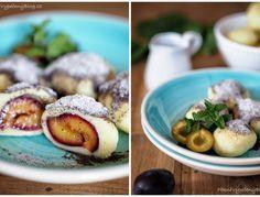 Křehký koláč s jablky – PĚKNĚ VYPEČENÝ BLOG Czech Recipes, Ethnic Recipes, Baked Potato, Food And Drink, Potatoes, Baking, Fruit, Blog, Czech Food
