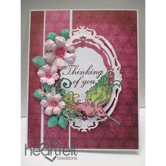 Heartfelt Creations - Flourished Hummingbird Project