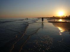 Bibione sunset by kurtzing, via Flickr