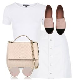 """""""Untitled #2278"""" by theeuropeancloset on Polyvore featuring New Look, Topshop, Givenchy, Christian Dior and Chanel"""