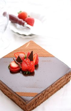 Chocolate Mousse Cake...