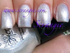 Nicole By OPI Don't Cloud Me (Shimmery Pale Pearly Silver)