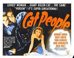 Classic Horror Movie Posters   Cat People Movie Poster 1942