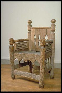 Kringla - stol av ek