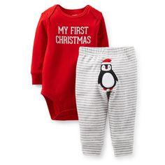 Christmas 2-Piece Bodysuit & Pant Set | Carter's