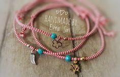 #ματάκια ❤❤ Macrame Bracelets, Handmade Bracelets, Baba Marta, It's Easy, Diy And Crafts, Jewlery, March, Jewelry Making, Thoughts
