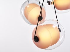 CAPSULA by Lucie Koldova  Brokis - interior - light - design - orange.