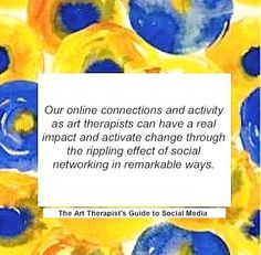 """""""Our online connections and activity as art therapists can have a real impact and activate change through the rippling effect of social networking in remarkable ways"""" -The Art Therapist's Guide to Social Media Digital Technology, New Technology, Social Networks, Social Media, Psychology Humor, Art Base, Art Therapy, Connection, Community"""