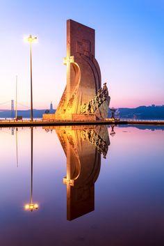 Padrão dos Descobrimentos, Monument to the Discoveries // Belem Lisbon Portugal Visit Portugal, Spain And Portugal, Portugal Travel, Belem Portugal, Places To Travel, Places To See, Places Around The World, Around The Worlds, Algarve