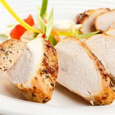 Maybe you have a hankering for good old roasted turkey, but don't have the time it requires to cook a whole turkey. The solution is simple. A roasted turkey breast is just . Turkey Recipes, Chicken Recipes, Easy To Digest Foods, Green Curry Chicken, Blood Type Diet, Garlic Butter Chicken, Maple Chicken, Turkey Sandwiches, Crusted Chicken