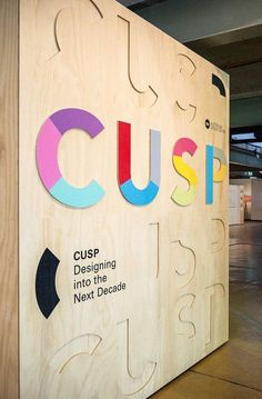 Australian Design Centre Exhibition and environmental design by Toko: