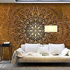 murando - Vlies Fototapete 500x280 cm - Vlies Tapete - Moderne Wanddeko - Design Tapete - Ornament f-A-0491-x-c