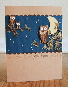 still one of my favourite cards by lisa c. in the hero arts flickr group.
