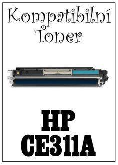 Kompatibilní toner HP 126A / HP CE311A za bezva cenu 664 Kč