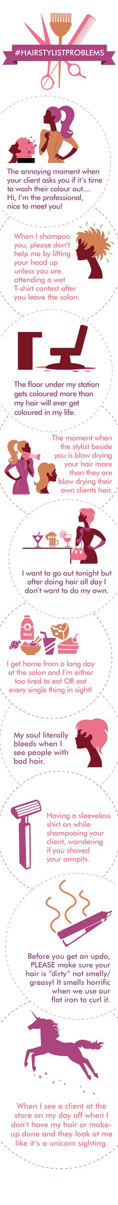 HairstylistProblems: OMG & trudat to every pixels Hairdresser Quotes, Hairstylist Quotes, Salon Quotes, Hair Quotes, Hairstylist Problems, Business Hairstyles, Love My Job, Love Hair, Beauty Shop
