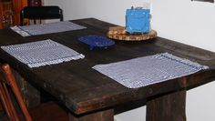 Handmade Rustic Kitchen Table
